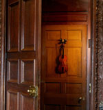 The Violin door in Chatsworth House